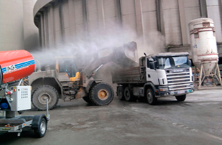 Malaysia dust control supplier manufacturer dust suppression supply for construction, coals mining, cement dust, calcium carbonate processing dust, kaolin dust control solutions